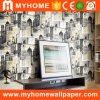 Vue sur la ville Belle Maison 3D modernes de Guangzhou le papier peint