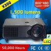 Projetor de filme barato do teatro Home do diodo emissor de luz do projetor X300 do LCD