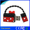 regalo de promoción de la belleza joven mujer Bolso USB Flash Drive 4gb