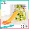 Симпатичные животные детский крытый пластиковые слайд для оптовых (ОБД17005C)