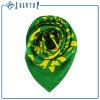 Frauen-Silk Schal mit kundenspezifischem Firmenzeichen-Entwurfs-Digital gedrucktem Silk Schal