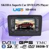 Jugador especial del coche DVD GPS para Volkswagen Skoda 2010 magnífico (SD-6016)