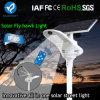 2017 Fly Hawk Light Outdoor Luz de rua solar ajustável integrada com sensor de movimento de controle remoto