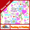 Papier multi de Warpping de couleurs d'impression fait sur commande (4134)