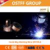 Alambre de soldadura de gran intensidad de MIG del CO2 de la aplicabilidad Er70s-6 de la fábrica de China
