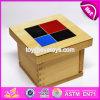 Il bambino di legno di Montessori dei 2017 nuovi blocchetti educativi di disegno gioca W12f015