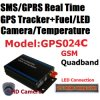 Sistema di inseguimento dell'inseguitore di GPS del monitor del combustibile della macchina fotografica con RFID