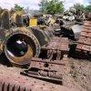 Fours de fonte d'admission pour le fer et l'acier, déchets métalliques
