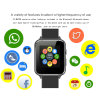 Bluetooth Smart Watch X7 Monitor de Ritmo Cardíaco Anti-Lost Tarjeta SIM reloj de pulsera Smartwatch