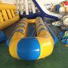 Nuovo 6/8/10/12 delle persone raddoppia la barca di banana di righe gonfiabile per la vendita, la barca di gomma gonfiabile, fabbricazione dei prodotti di sport di acqua