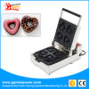 Manual de Aço Inoxidável comercial Coração Dount máquina de fazer Mini Donut Maker