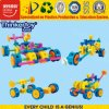 Brinquedo bricolage educacionais para crianças de blocos de construção Car Series