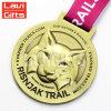 昇進の試供品カスタム亜鉛合金のスポーツカラーメダル無し