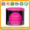 Cosméticos de metal tin box de aceite con fragancia de perfumes