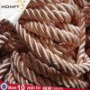 Дешевые раунда нейлоновой веревки оплеткой строк/шнур питания для бумажных мешков для пыли