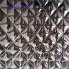 En relief la feuille en acier inoxydable AISI304 Taille de feuille décorative 4'x8'