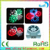3W*8PCS Eight Gobos Four Colors LED Mini Effct Light