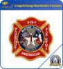 Corrección de encargo de Resure del fuego de la insignia del bordado de la marca de fábrica