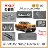 De volledige Toebehoren van het Chroom van Reeksen voor de Vrachtwagen Nissan Np 300 van Ver*beteren Delen van de Uitrustingen Np300 van het Chroom van de Auto van de Uitrusting van het Lichaam Navara de Volledige Volledige
