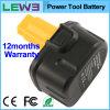 Black+Yellow 3.0ah NiMH Electric Tool Battery voor Dewalt DC9071