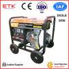 Одиночным генератор портативной силы цилиндра охлаженный воздухом тепловозный с Ce (5kw/3kw/2kw)