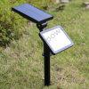 Solarrasen-Licht mit Sonnenkollektor-Wand-Licht strahlt Lampe an