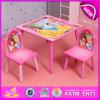사랑스러운 Design Primary School Table 및 Chairs, Modern Design Square Wooden Cheap Table 및 Chairs W08g152