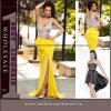 Maxi longue robe de célébrité de soirée de robe de bandage sexy de cocktail (60681)