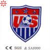 Изготовленный на заказ значок Article вышивки Sport футбола с Logo