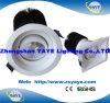 Lámpara redonda del techo de la luz/LED de la MAZORCA LED del cuadrado caliente de la venta de Yaye abajo