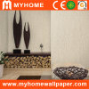 Color ordinaire Vinyl Wallpaper pour Home Decoration