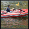 Unteres aufblasbares Boot des Sonnenschein PVC-heißes Verkaufs-V