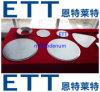 Obiettivo planare di polverizzazione del molibdeno di alta qualità