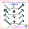 Maleficio DIN7991/socket del hexágono avellanado/tornillo de máquina principal de Csk