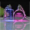Diodo emissor de luz Crystal Keychain para Promotion Gifts