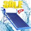 Riscaldatore solare basso/ad alta pressione della valvola elettronica del riscaldamento ad acqua calda dell'acciaio inossidabile del condotto termico del sistema energetico solare Integrated compatto Non-Pressurized di acqua