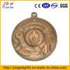 Medalla de cobre antigua de encargo del metal