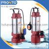 ステンレス鋼の多段式ポンプ浸水許容の下水ポンプ