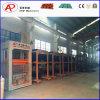 Máquina de fabricación de ladrillo hidráulica del cemento que se enclavija