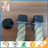 주문품 라운드 PVC 플라스틱 플랜지 밧줄 또는 케이블 또는 전기 철사 나사 엔드 캡