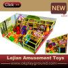 Material plástico do campo de jogos e tipo interno corrediça do campo de jogos (T1501-6)