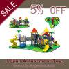 Jeux extérieurs de cour de jeu de fabrication de château durable merveilleux de forêt (X1519-3)