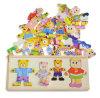 Style simple en bois Kids Recreative Jigsaw