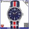 Холстина роскошных военных верхнего тавра вахт Mens Yxl-862 & wristwatch кварца Wristband НАТО