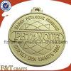 De naar maat gemaakte Matte Medaille van het Metaal van het Gouden Plateren Matrijs Gegoten