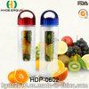 2016 recentemente BPA liberano la bottiglia di acqua di plastica di Infuser della frutta (HDP-0602)