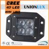 Das heiße verkaufen4d Hülse-Licht 12V LED des Objektiv-LED quadriert hängen bündig 20W LED Arbeits-Licht mit bündiger Montierung für LKW ein