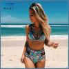 Le bikini fait sur commande de vêtements de bain de Beachwear a placé avec le logo