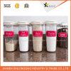 Étiquettes auto-adhésives colorées faites sur commande pour des conteneurs de nourriture