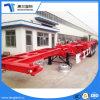 Высокое качество 40ft 3 стандартного моста прицепа скелета для продажи
